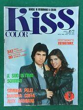FOTOROMANZO Lancio KISS COLOR n.43 (1981) COFFA PELEI DAMIANI Rivista/Magazine