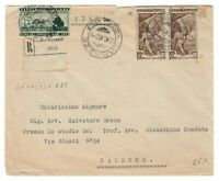s23333) ITALIA 30.9.1952 Racc. Varazze Palermo - Fiera Levante ++