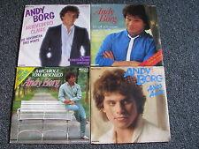 Andy Borg-4 x 7 PS- Germany-EMI Electrola-45 U/min-Deutscher Schlager-80er Jahre