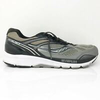 Saucony Mens Echelon 7 S20468-1 Gray Black Running Shoes Lace Up Size 11.5
