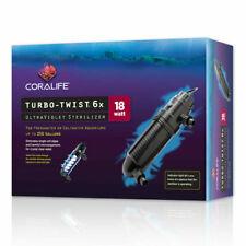 Coralife Turbo-Twist 6x 18 watt UV sterilizer eliminates unwanted organisms