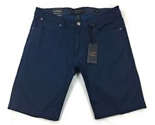 Paper Denim & Cloth PD&C Shorts Mens Size 34 Stretch Regular Fit Navy