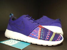 NIKE ROSHE RUN ROSHERUN MOYPUP MP QS PURPLE PINK WHITE RED BLUE 652875-500 5.5 4