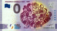 Null Euro Schein - 0 Euro Schein - Friedrich Engels 1820-1895 2020-2 Anniversary