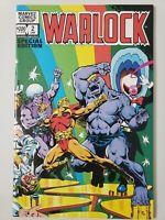 WARLOCK SPECIAL EDITION #2 (1982) MARVEL COMICS JIM STARLIN! THANOS! GAMORA!
