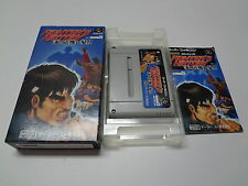 Fighter's History Mizoguchi Kiki Ippatsu Nintendo Super Famicom Japan
