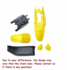 YELLOW PLASTIC SET GAS TANK SEAT FOR PW50 YZinger PY50 V PS33