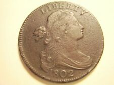 1802 Large cent. Light Brown color.
