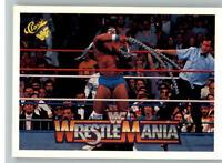 1990 Classic WWF WWE History of Wrestlemania #65 Ultimate Warrior