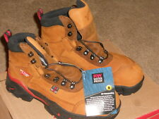 RED WING WOMANS STEEL TOE BOOTS 6 1/2 D INSULATED WORK HIKING LEATHER #2691 NIB