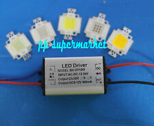 10W 12V 3x3W LED 900mA Impermeable Diver +10W Alta Potencia LED Kit
