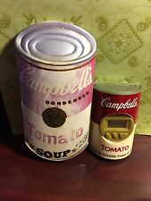 "Campbell Soup 5""  Magnet  & 2-3/4"" Tomato Souper Timer Not working C-29"