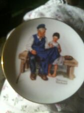 """Norman Rockwell """"The Lighthouse Keeper's Daughter"""" Collector Plate 1984"""