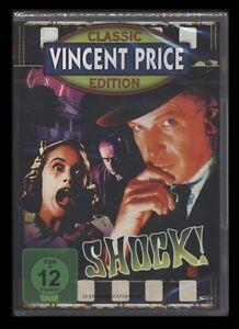 DVD SHOCK (SCHOCK) - VINCENT PRICE CLASSIC EDITION - FILM-NOIR-KLASSIKER * NEU *
