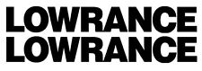 Lowrance Winshield Boat Decals Sticker Set  2 Bass Catfish Trout Lure  Swimbait