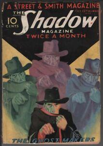 Shadow, 1932 October 15.    Pulp