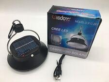 LAMPADA UFO PANNELLO SOLARE RICARICABILE SOSPENSIONE USB LED CAMPING GIARDINO