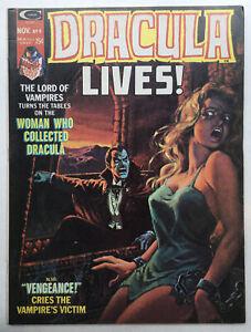 Dracula Lives #9 Nov 1974 Marvel Monsters Group Magazine FN/VF 7.0 GGA