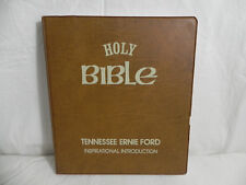 Vintage 1976 - Holy Bible - King James / New Testament Cassettes - Tenessee Ford