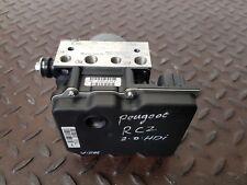 PEUGEOT RCZ GT 2.0 HDI MANUAL 2014 ABS PUMP 9676184780 / 9666957480