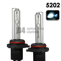 2X NEW HID XENON H16 5202 9009 Fog Light HID Bulbs AC 35W 6000K Crystal White