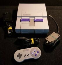 MINT CONDITION! Super Nintendo SNES System Console Adult Owned Non Smoker