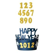 New listing Lifestyle Crafts Quickutz Happy New Year Die Dc0228