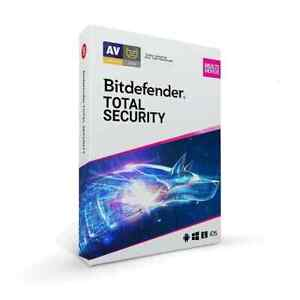 Bitdefender Total Multi Device Security Windows MAC Android iOS - 2020 / 2021