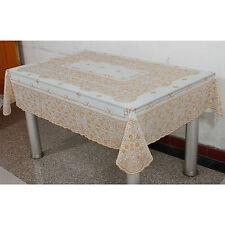 Tischtuch Tischdecke Decke tablecloth table cover Weihnachten weiß eckig Tisch