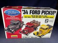 F5-36 LINDBERG MODEL - '34 FORD PICKUP 3' N 1- 1:25 SCALE - NIB