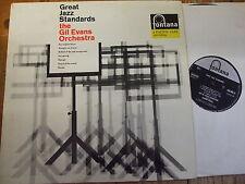 688 00 ZL Gil Evans Orchestra - Great Jazz Standards - UK 1962 Fontana LP