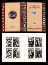 CARNET Croix Rouge 1961, Neufs ** = Cote 46 € / Lot Timbres France