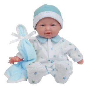 "Baby Doll Kids Toddler Toy 11"" Boy Girl Washable Soft Body Pretend Play Gift New"