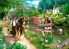 The House Of Puzzles - 1000 PIECE JIGSAW PUZZLE - Tow Path