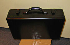 Metallkoffer, Maschinenkoffer, Werkzeugkasten, schwarz, ca. 390x240x110mm