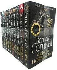 Bernard Cornwell The Last Kingdom Series 10 Books Collection Set Paperback 2017