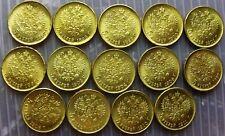 "Russian ""gold"" coin 5 Rubles with dates 1897-1911 PLEASE READ DESCRIPTION!"