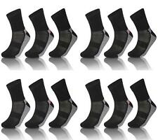12 Pairs Of Men's Active Sports Socks Padded Sole Anti Blister Sport Sock