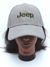d436fdf7b75 JEEP Khaki Beige   Green Embroidered Adjustable strap baseball style Hat Cap