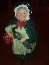 "Vintage Royal Doulton Figurine Hn 2100 Sairey Gamp 1967 Retired 7 1/2"""