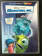 Monsters, Inc. (DVD, 2002) with bonus features