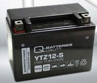 Q-Batteries YTZ12S AGM Motorcycle Battery (REPLACES YT12A-BS / YTZ12S)