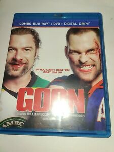 Goon (Blu-ray/DVD, 2012, Canadian)