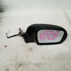 SUBARU LIBERTY RIGHT DOOR MIRROR 4TH GEN,LATE, 5 WIRE TYPE, 09/06 - 08/09