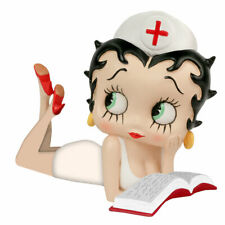 Extremely Rare! Betty Boop Sexy Nurse Reading Figurine Statue