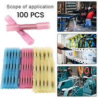 100pcs Connecteurs de terminaux thermorétractables Fil de soudure électrique L7