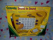 Brand NEW in Box Crayola Sound to Sound Electronic Toy