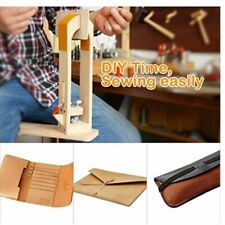 Wood Leathercraft Sewing Clamp Leather Stitching Lacing Pony Clamp Tools