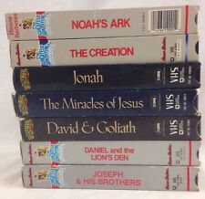 Hanna-Barbera's The Greatest Adventure Stories From the Bible VHS 10 Tape Lot