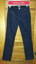 J.Crew Dark Navy Blue Corduroy pants 26S NWT boot cut